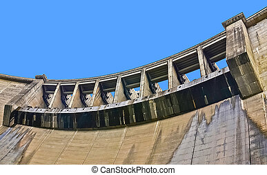 Victoria Dam Close-Up Sluice Gate - Victoria Dam, The...