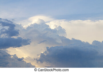 Clouds and sky. - amazing clouds and sky background.