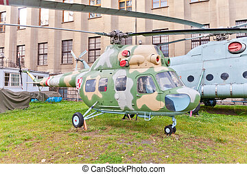 Soviet light multifunctional helicopter Mil Mi-2 NATO...