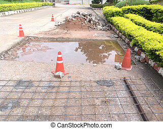 pothole and road surface repairing works - pothole and...