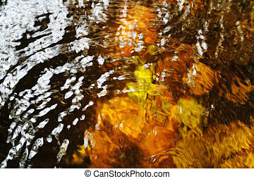 Abstract water ripple background.