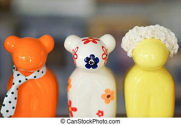 Dolls ceramics