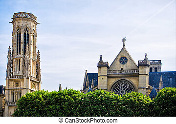 Church, Saint, Germain, l'Auxerrois, Paris, France
