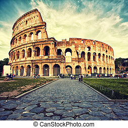 Colosseum - Great Colosseum, Rome, Italy