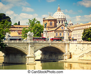 Saint Peter cathedral, Rome, Italy