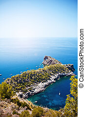 Sa Foradada, Mallorca, Spain - Beautiful view to Sa...