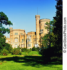 Babelsberg castle in Potsdam, Germany