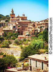 Valldemosa village in Mallorca - Mountain village Valldemosa...