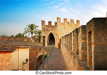 Fortification in Alcudia, Mallorca, Spain