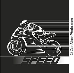 speed - icon for motor sport event