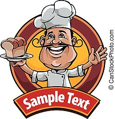 Master chef - logo or icon for food industry