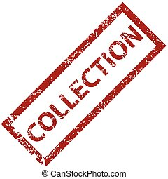Collection rubber stamp