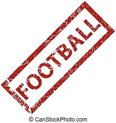 Football rubber stamp