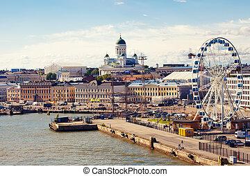 Helsinki port - Port in Helsinki sity, Finland
