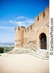 Biar castle - Medieval castle Biar, Spain