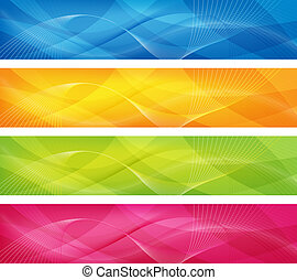abstract designs - abstract design in 4 colors