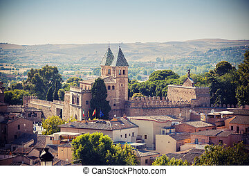 Toledo cathedral - Cathedral in Toledo town, Spain