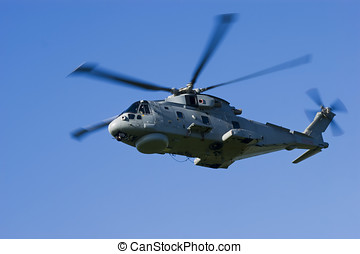 Merlin HM1 Helicopter - Royal Navy Anti-Submarine Warfare...