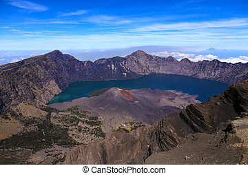 Astonishing View From Mount Rinjani
