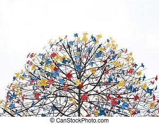 pinwheel tree
