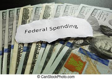 federal, gastando
