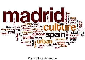 Madrid word cloud
