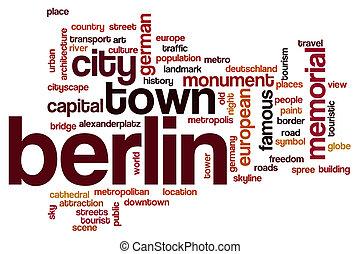 Berlin word cloud