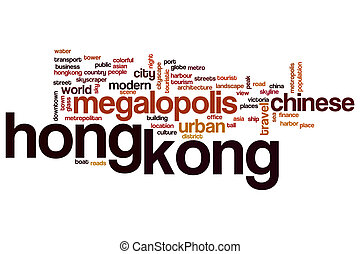 Hong Kong word cloud