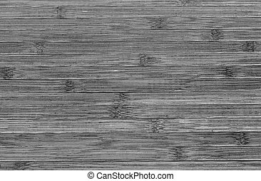 Black and White Bamboo - Bamboo background texture in black...