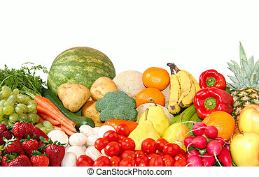 Fruit and vegetables - Fruit and vegetable variety