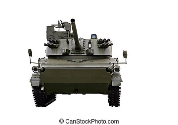 Self-propelled gun - 120 mm self-propelled howitzer 2c31...