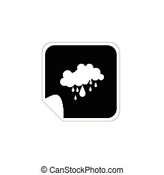 weather icons vector illustration on a white