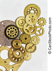 Gears and watch parts