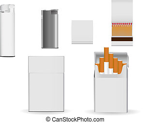 Corporate packaging - Set of corporate or business packaging...