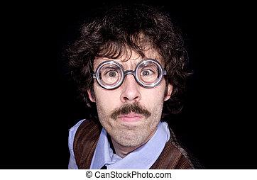 70s men - 70s nerd man
