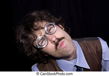 eyeglasses man