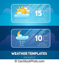 Weather Mobile Application - Weather forecast widget...
