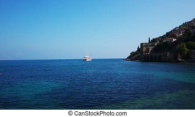Panoramic View At Alanya Bay Resort - Panoramic view to...