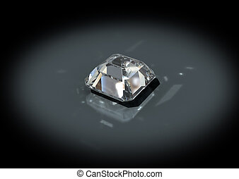 3D jewelry brilliant cut diamond - 3D jewelry, brilliant cut...
