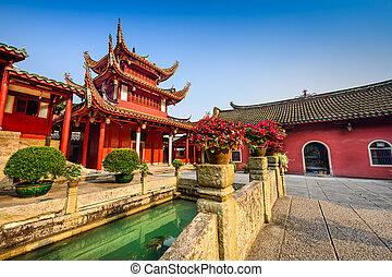 fuzhou, Porcelana, świątynia