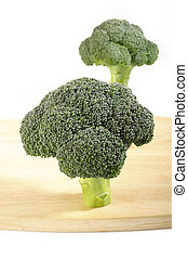 raw broccoli vegetable