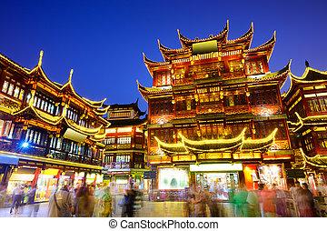 Yuyuan District of Shanghai China