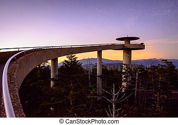 Clingmans Dome - Clingmans Dome in the Great Smoky Mountains...