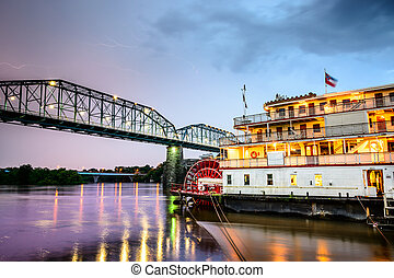 Chattanooga, Tennessee Riverboat - Chattanooga, Tennessee,...