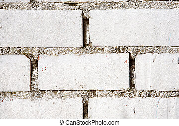 Brick Wall - a white Brick wall for back ground