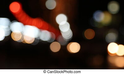 Flare or Bokeh - Set collection montage, Flare or Bokeh,...