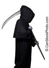 severo, reaper., Halloween., muerte,