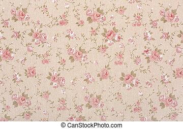 Rose floral tapestry background - Rose floral tapestry...