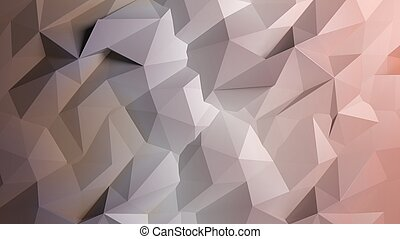 Abstract pastel low poly background