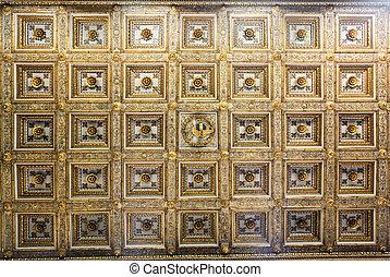 Basilica di Santa Maria Maggiore, interior details. Rome,...
